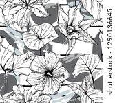 tropical  stripe  animal motif. ...   Shutterstock .eps vector #1290136645