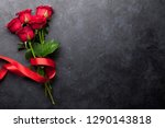 valentine's day greeting card... | Shutterstock . vector #1290143818