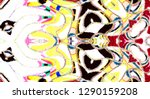 colorful abstract pattern for... | Shutterstock . vector #1290159208