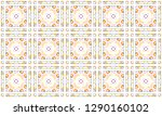 colorful seamless pattern for... | Shutterstock . vector #1290160102