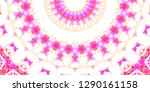 melting colorful pattern for... | Shutterstock . vector #1290161158