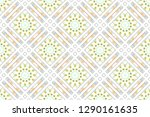 colorful mosaic seamless... | Shutterstock . vector #1290161635