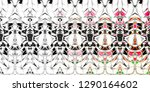 color fading abstract pattern... | Shutterstock . vector #1290164602