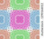 colorful seamless pattern for... | Shutterstock . vector #1290166012