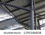 close up of metal structures of ... | Shutterstock . vector #1290186838