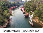 Wooden Boat Sailing River Kwai...
