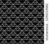 seamless pattern of triangles.... | Shutterstock .eps vector #1290219082