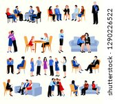 family and relationship... | Shutterstock .eps vector #1290226522