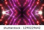 abstract pink creative lights... | Shutterstock . vector #1290229642