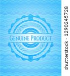 genuine product water wave... | Shutterstock .eps vector #1290245728