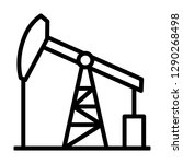 oil pump jack or petrol... | Shutterstock .eps vector #1290268498