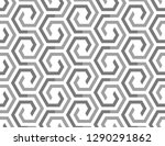 abstract geometric pattern with ... | Shutterstock .eps vector #1290291862