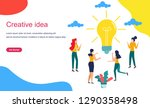 vector creative illustration of ...   Shutterstock .eps vector #1290358498