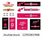 banners for social media... | Shutterstock .eps vector #1290381988