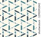 contemporary geometric pattern. ... | Shutterstock .eps vector #1290391042