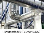 large industrial boiler room | Shutterstock . vector #129040322