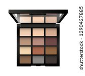vector realistic palette of... | Shutterstock .eps vector #1290427885