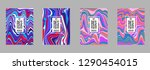 covers templates set with...   Shutterstock .eps vector #1290454015