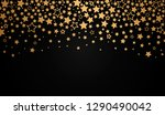 abstract texture of the night... | Shutterstock .eps vector #1290490042