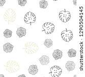 light green  yellow vector... | Shutterstock .eps vector #1290504145