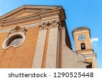 facade of the church of our... | Shutterstock . vector #1290525448