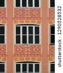 revival windows. city of... | Shutterstock . vector #1290528532