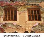 revival windows. city of... | Shutterstock . vector #1290528565