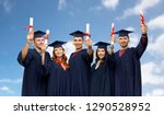 education  graduation and... | Shutterstock . vector #1290528952