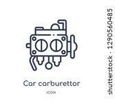 linear car carburettor icon...   Shutterstock .eps vector #1290560485
