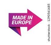 made in europe sign  emblem ...