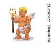 angel on white | Shutterstock .eps vector #1290563452