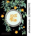 vector organic labels  bio...   Shutterstock .eps vector #1290580792