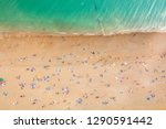 aerial view of seaside with... | Shutterstock . vector #1290591442
