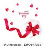 valentine's day design template.... | Shutterstock .eps vector #1290597388