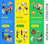 restaurant cafe or bar...   Shutterstock .eps vector #1290601918