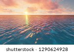 beautiful tranquil natural... | Shutterstock . vector #1290624928