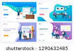 broker and collaboration ... | Shutterstock .eps vector #1290632485