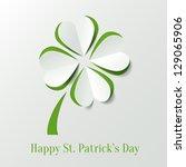st. patricks day background... | Shutterstock .eps vector #129065906