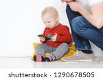 life with gadgets    small... | Shutterstock . vector #1290678505