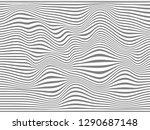 warped lines background...   Shutterstock . vector #1290687148