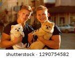 they belong together. happy... | Shutterstock . vector #1290754582