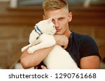 he is more than just a pet.... | Shutterstock . vector #1290761668