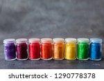 bright colourful powdered...   Shutterstock . vector #1290778378