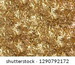 gold sparkles. gold glitter... | Shutterstock .eps vector #1290792172