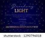 decorative script duo font....   Shutterstock .eps vector #1290796018