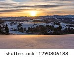 colorful sunrise with some...   Shutterstock . vector #1290806188