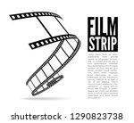 film strip illustration | Shutterstock . vector #1290823738