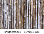 Wooden Fence. Shot In Western...