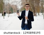 stylish indian student man in...   Shutterstock . vector #1290898195