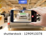 augmented reality for smart... | Shutterstock . vector #1290913378